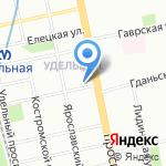 Абсолют-Сервис на карте Санкт-Петербурга
