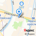 Zara Home на карте Санкт-Петербурга