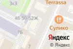 Схема проезда до компании Ассоль в Санкт-Петербурге