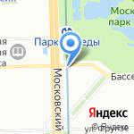 Бассейная на карте Санкт-Петербурга