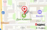 Схема проезда до компании Проди в Санкт-Петербурге