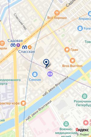 Кульков Владимир Викторович на карте Санкт-Петербурга