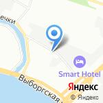 Казачий двор на карте Санкт-Петербурга