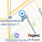 Стоматологический кабинет на карте Санкт-Петербурга
