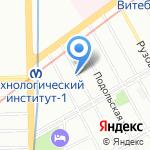 Yes Studio на карте Санкт-Петербурга
