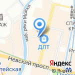 Смешарики на карте Санкт-Петербурга