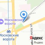 Лицей №373 на карте Санкт-Петербурга