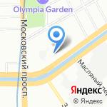 Детский сад №154 на карте Санкт-Петербурга