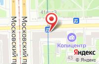 Схема проезда до компании Кофеавтомат в Санкт-Петербурге