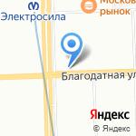 Век закона на карте Санкт-Петербурга