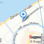 РУССКИЙ КАРАВАЙ на карте Санкт-Петербурга