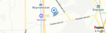 Двери-Энергия на карте Санкт-Петербурга