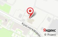 Схема проезда до компании Электромеханика в Санкт-Петербурге