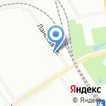 Детская психиатрия им. С.С. Мнухина на карте Санкт-Петербурга