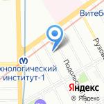 Orange Language Centre на карте Санкт-Петербурга