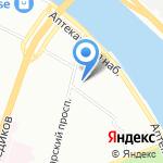 D12 на карте Санкт-Петербурга