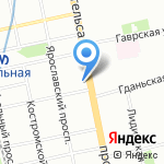 Максим на карте Санкт-Петербурга
