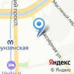 Бетатэк Энерго на карте Санкт-Петербурга