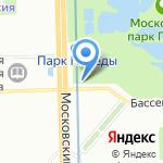 Кондитерский магазин на карте Санкт-Петербурга