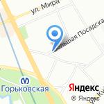 Адвокатский кабинет Попова А.В. на карте Санкт-Петербурга