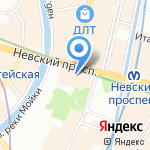 СКА Hockey Club на карте Санкт-Петербурга