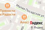 Схема проезда до компании Flamand Rose в Санкт-Петербурге