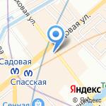 Дом Яковлева на карте Санкт-Петербурга