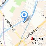 Высшая экономическая школа на карте Санкт-Петербурга