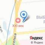 Геоприбор на карте Санкт-Петербурга