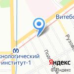 Мастерица на карте Санкт-Петербурга