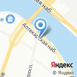 ЛЭРУ на карте Санкт-Петербурга