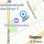 Академия тренинга и туризма на карте Санкт-Петербурга