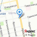 Книжное царство на карте Санкт-Петербурга