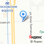 МедЭкс на карте Санкт-Петербурга
