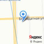 Многофункциональный центр предоставления государственных услуг Московского района на карте Санкт-Петербурга