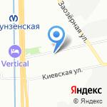 Институт экономики и права на карте Санкт-Петербурга