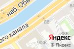 Схема проезда до компании Систем Сервис СПб в Санкт-Петербурге