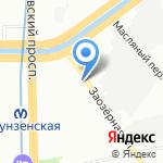 Би-Сервис на карте Санкт-Петербурга
