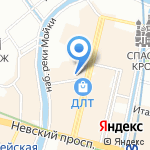 Жажда творчества на карте Санкт-Петербурга