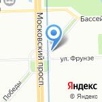 Городской центр восстановительного лечения детей с психоневрологическими нарушениями на карте Санкт-Петербурга