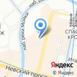 Арка на карте Санкт-Петербурга