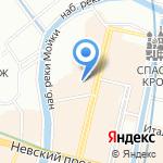 Электрооборудование на карте Санкт-Петербурга
