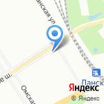 Магазин товаров для рукоделия на карте Санкт-Петербурга
