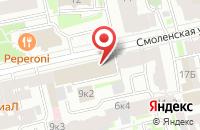 Схема проезда до компании Ньюсми в Санкт-Петербурге