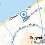 Тюльпан на карте Санкт-Петербурга