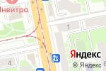 Схема проезда до компании Белорусский трикотаж в Санкт-Петербурге