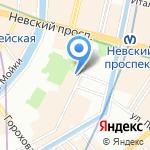 Санкт-Петербургская высшая школа перевода на карте Санкт-Петербурга