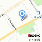 Сердобольская 7-2 на карте Санкт-Петербурга