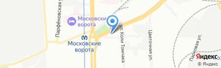 Эгида на карте Санкт-Петербурга