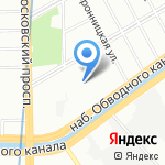 Ленкай на карте Санкт-Петербурга